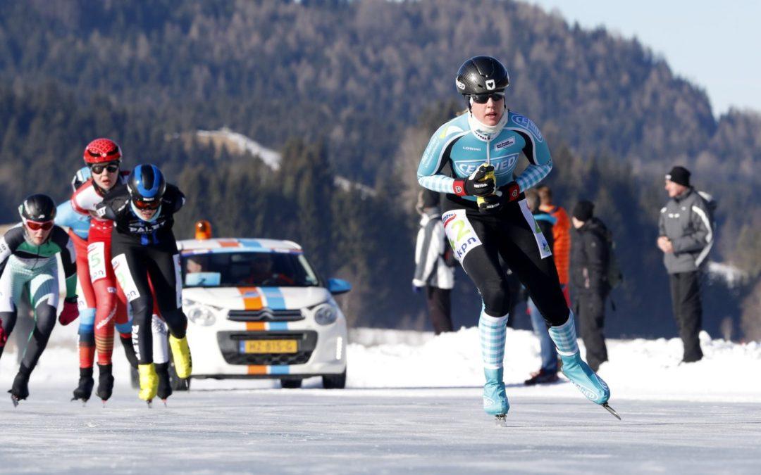 Ankie Ytsma derde bij NK Weissensee