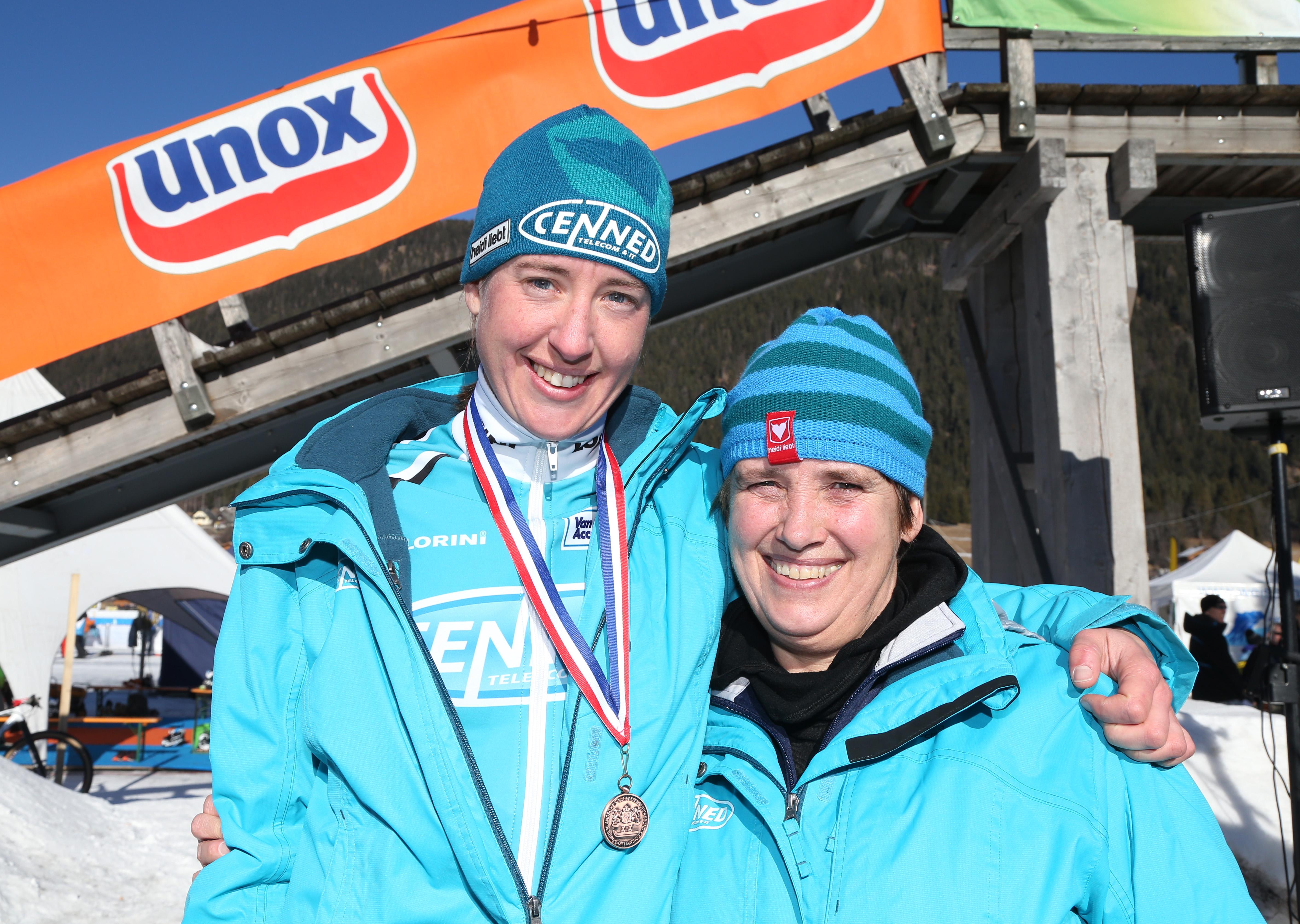 Weissensee Open Nederlands kampioenschapAnkie Ytsma en Alida Pasveer.
